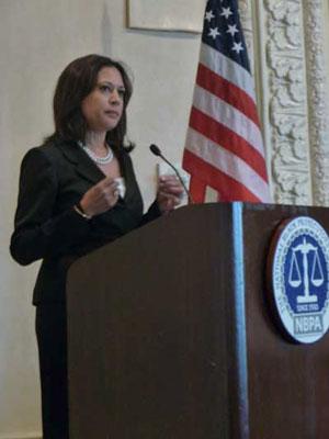 Kamala Harris at NBPA Conference